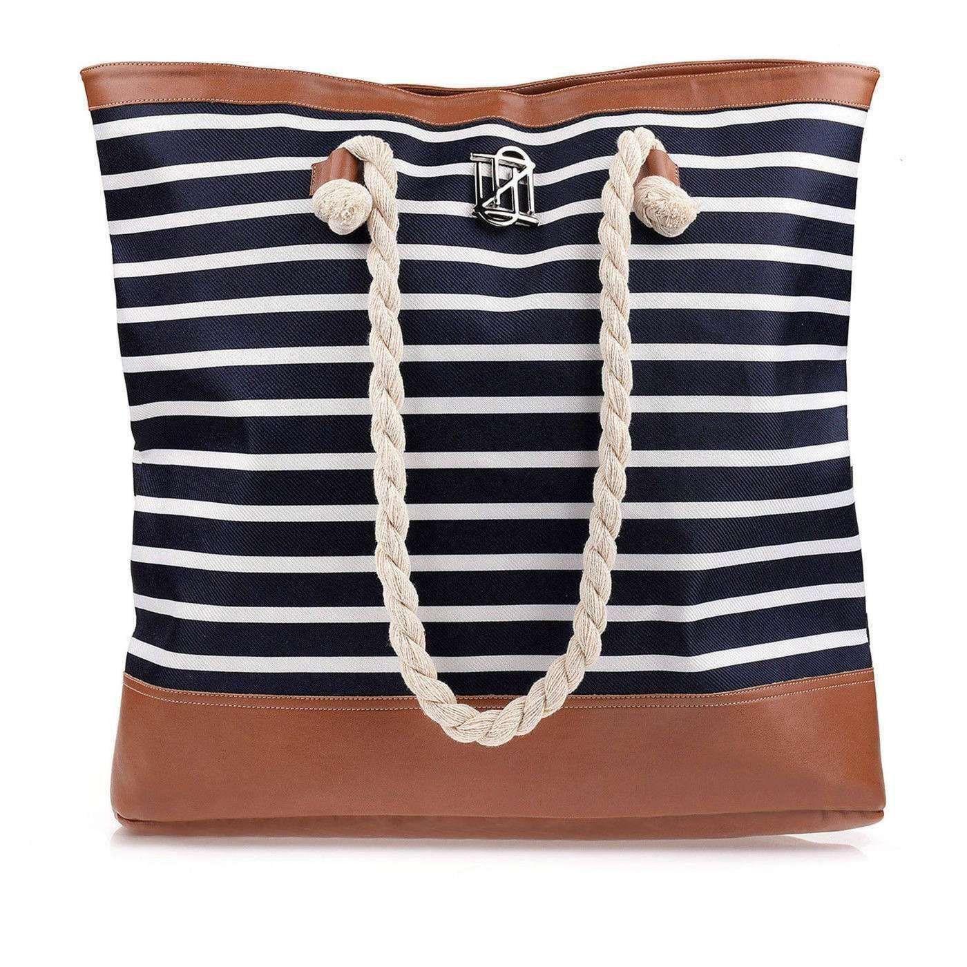 Bolsa Summer Navy Blue/Carameloo