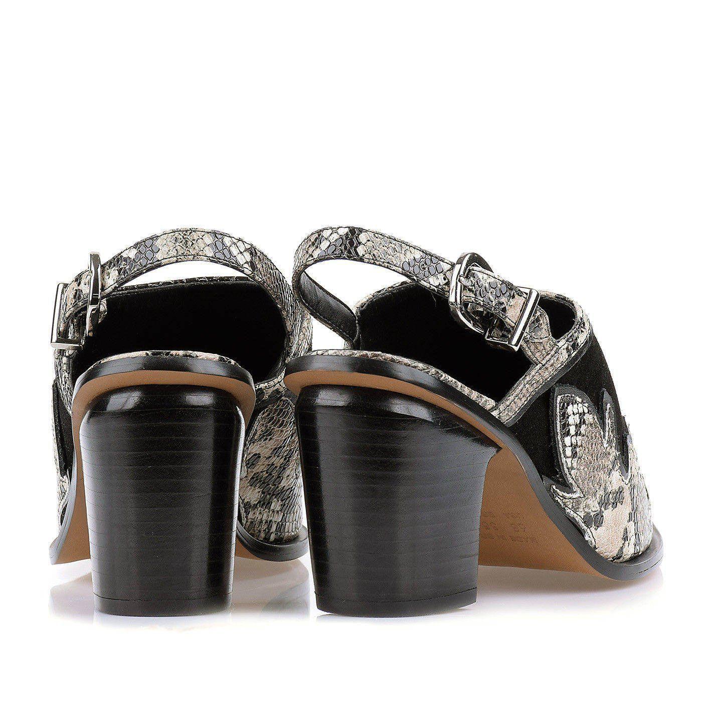 Chanel Salto Médio New Python Fendi