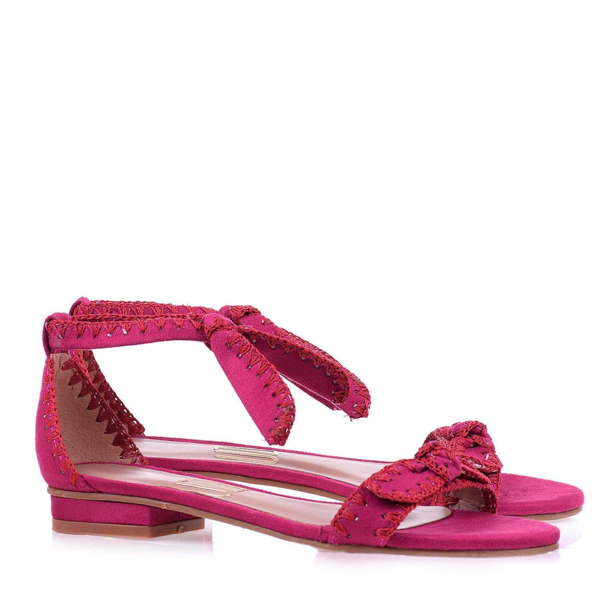 Flat Camurça Pink