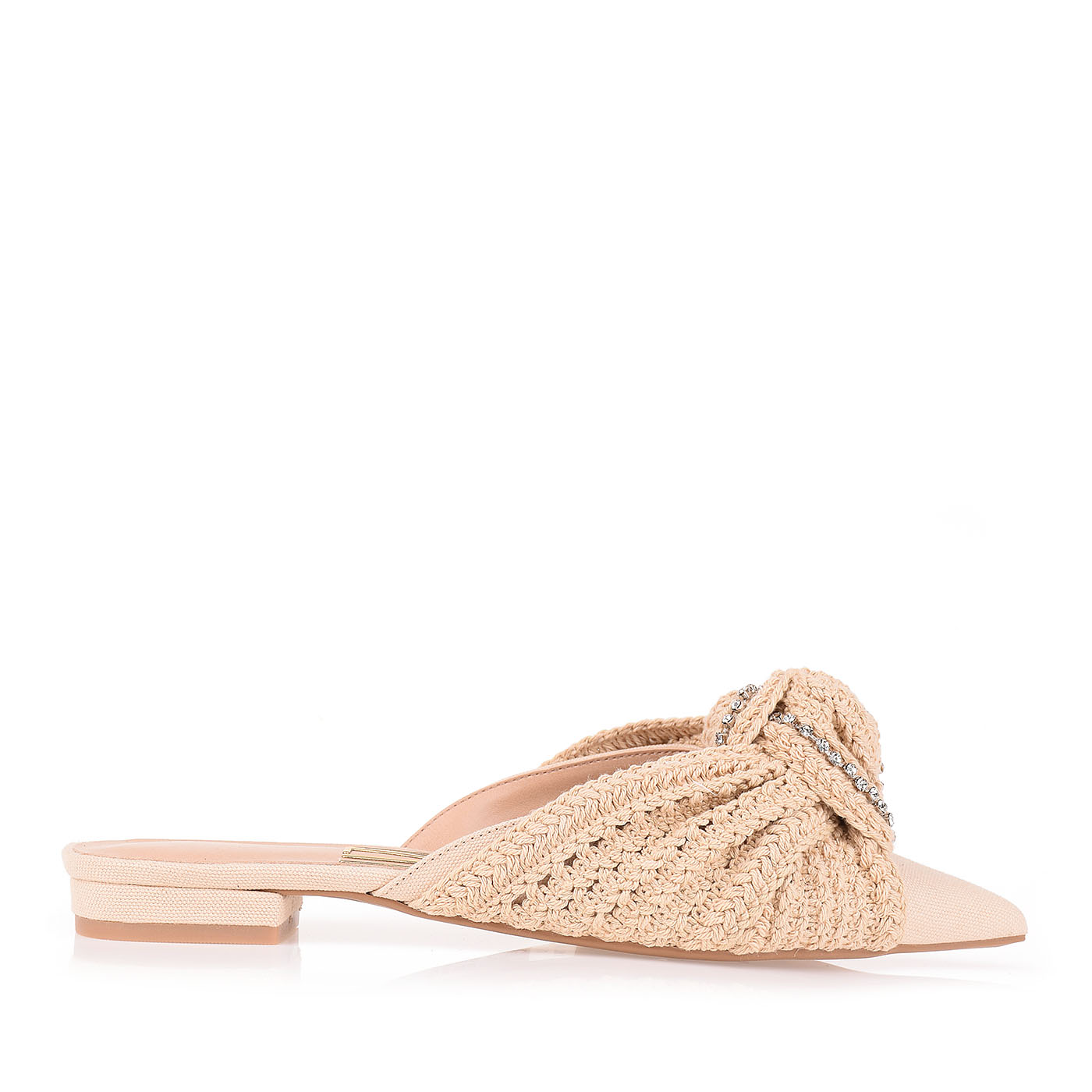 Flat Crochet Crema