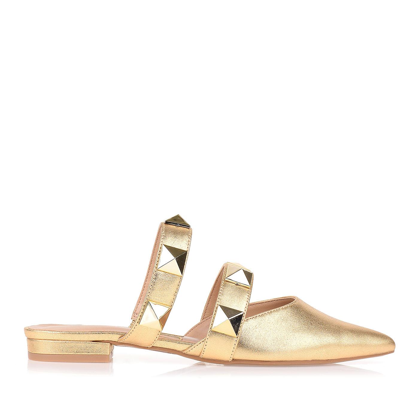 Flat Metalizado Dourado