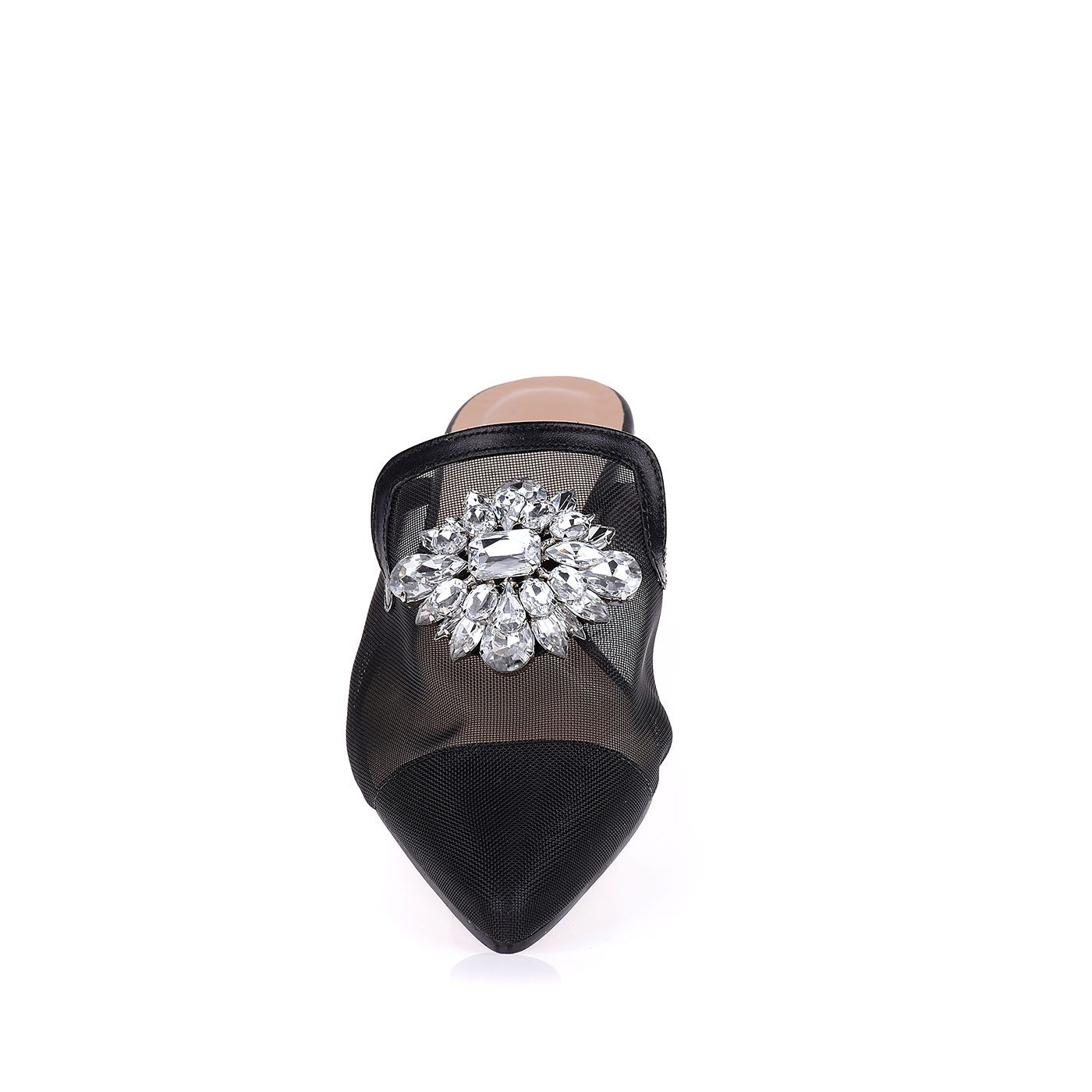 Flat Mule Mesh Jewelry