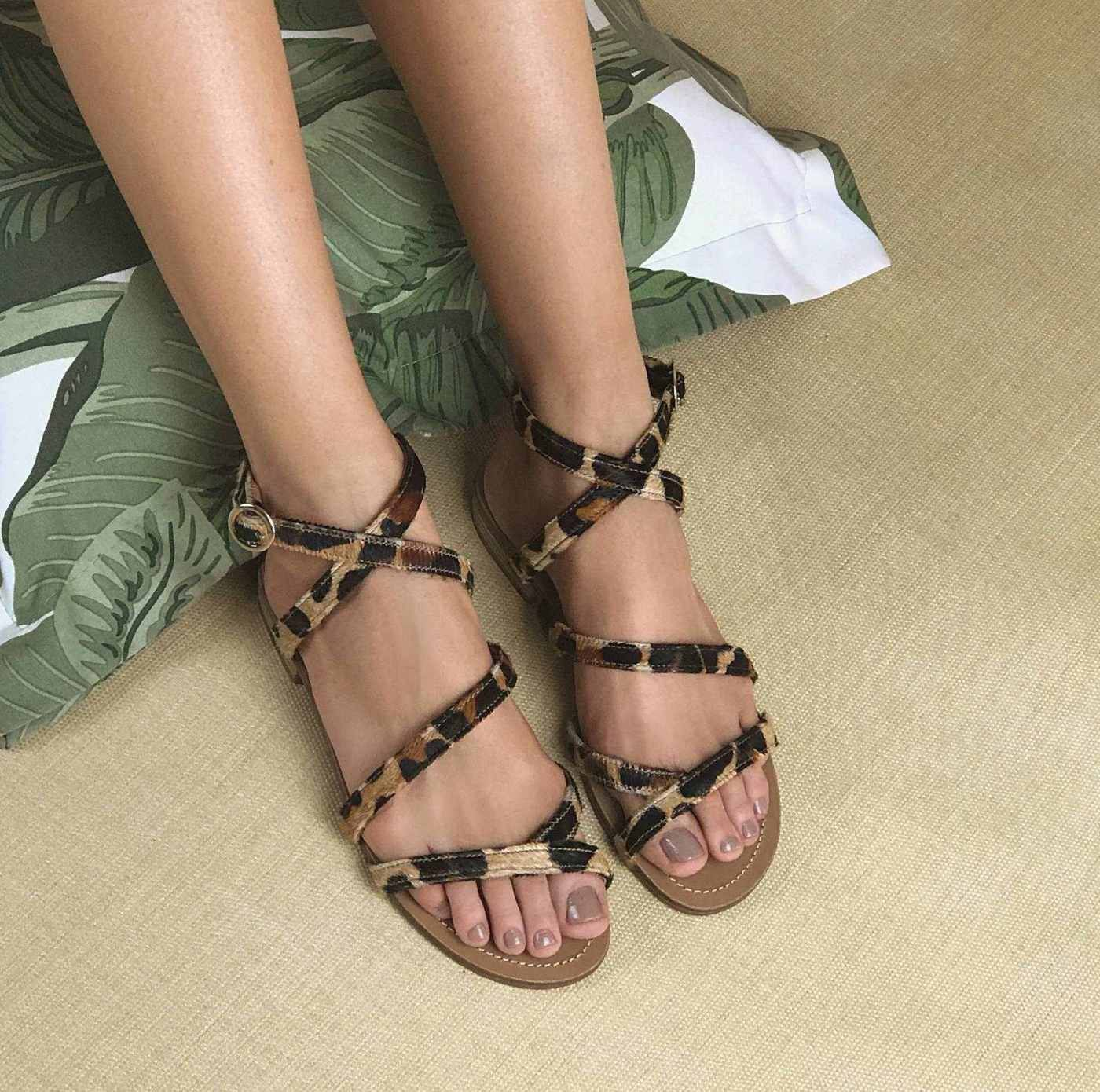 Flats Pelo Leopardo