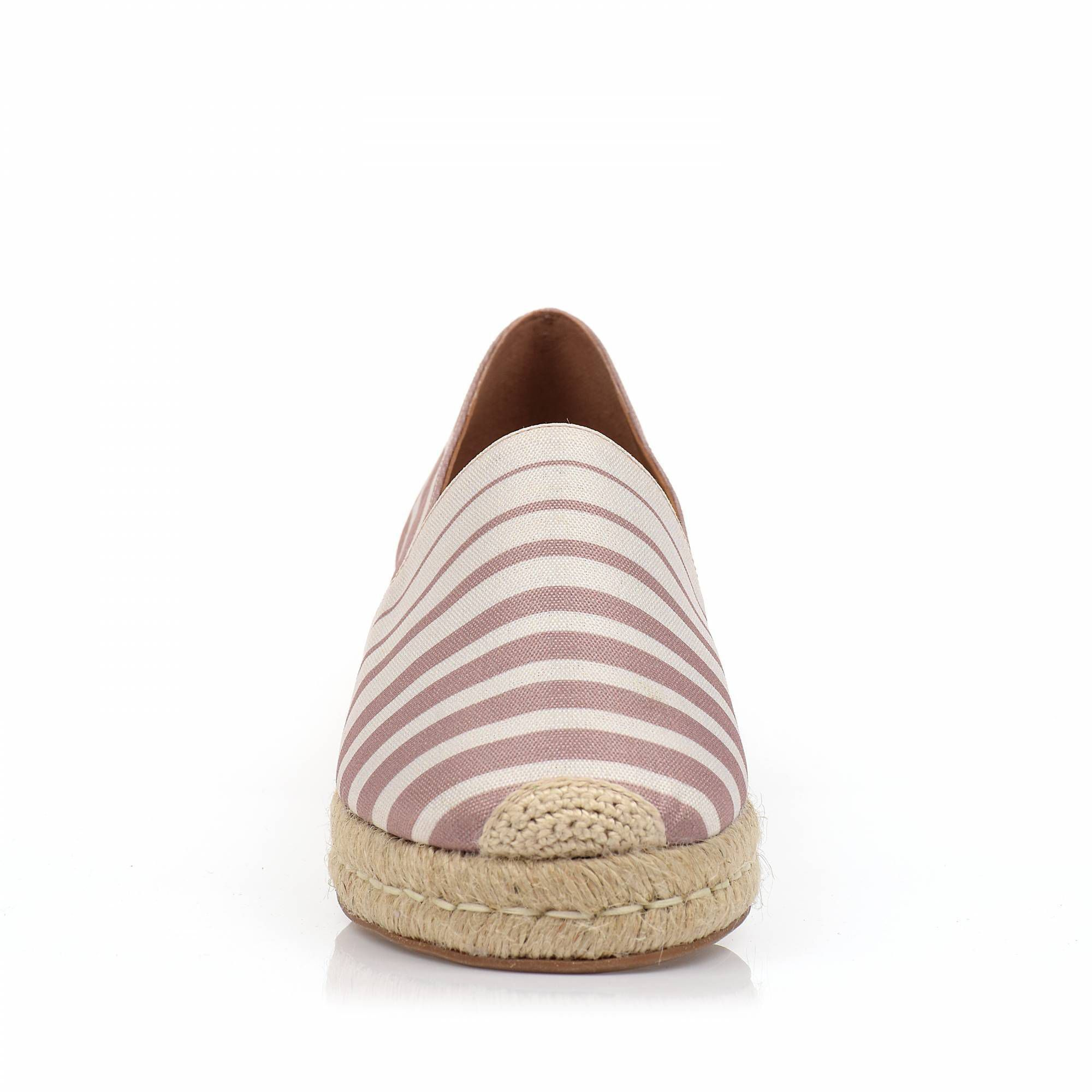 Flats Stripes Nude