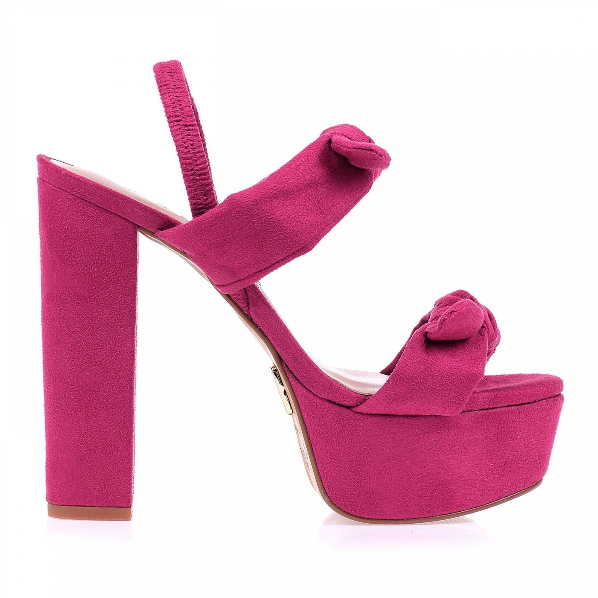 Meia Pata Camurça Pink
