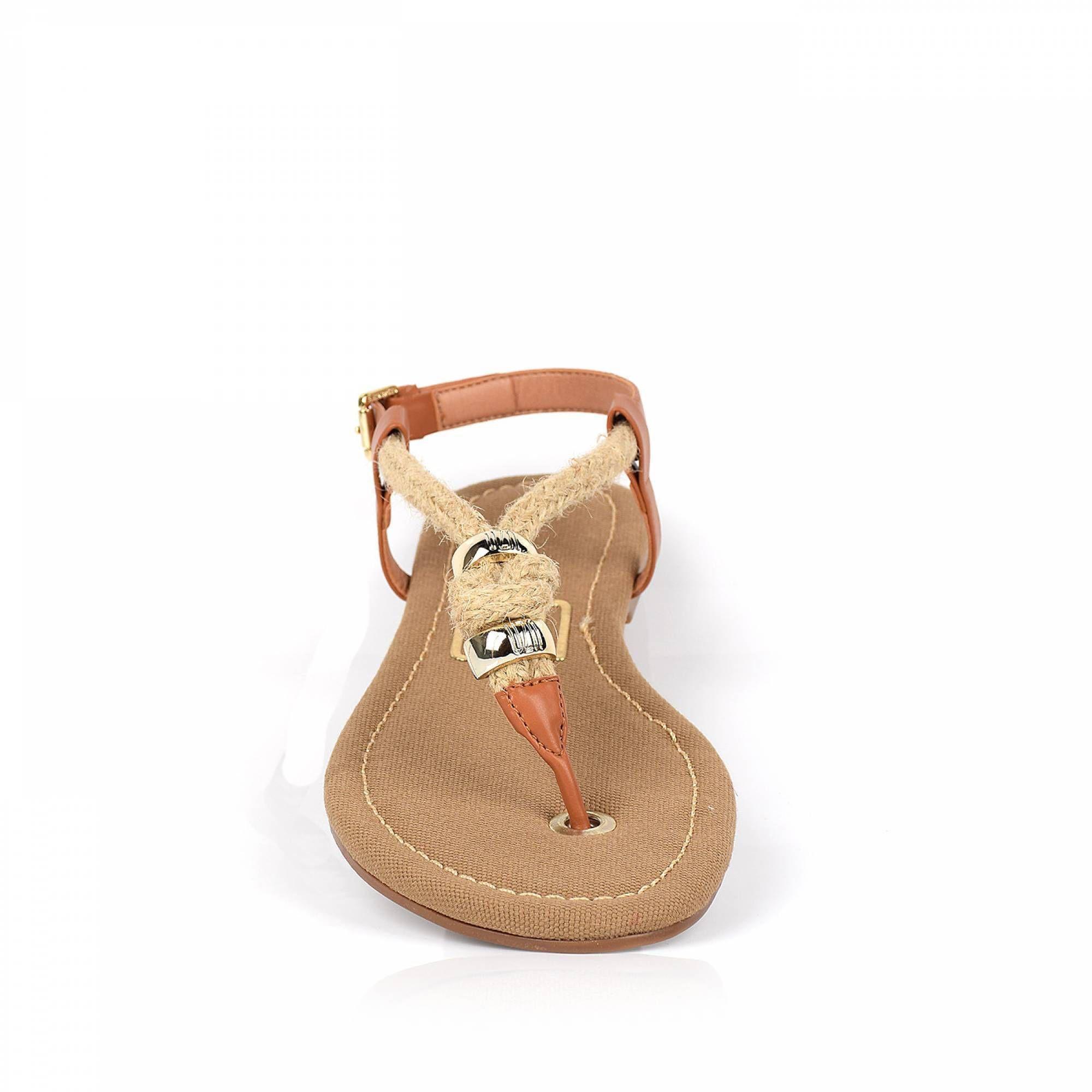 Rasteira Ecoven Camel