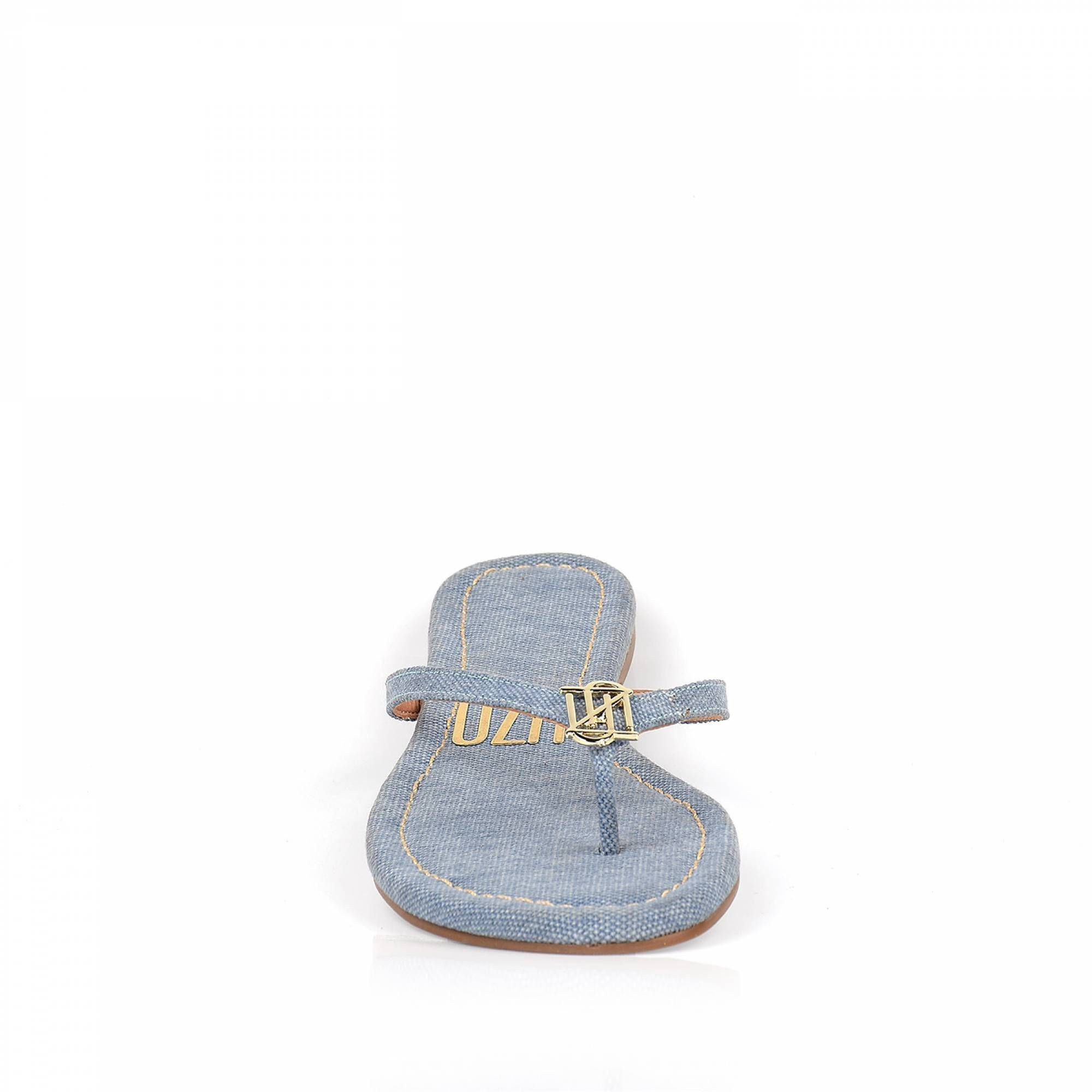 Rasteira Stoned Jeans