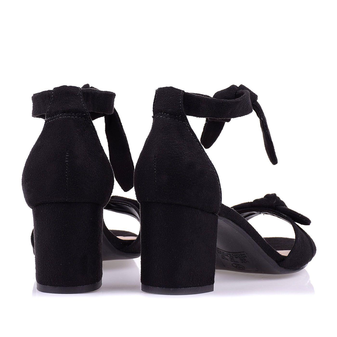 Sandália Salto Baixo Tie