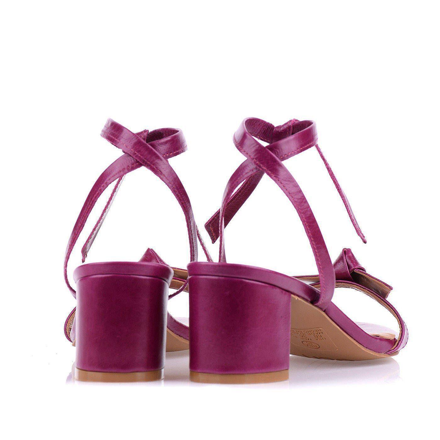 Sandália Salto Médio Berry
