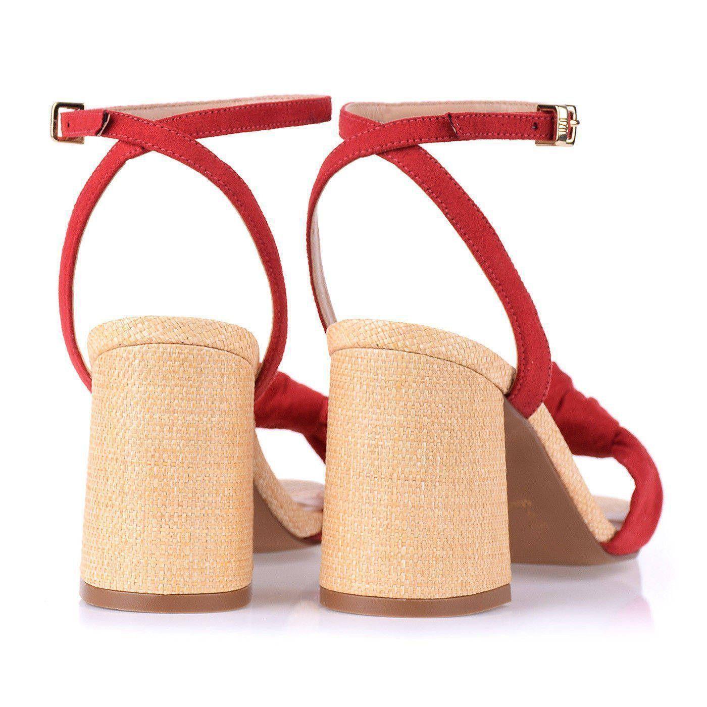 Sandália Salto Médio Knot