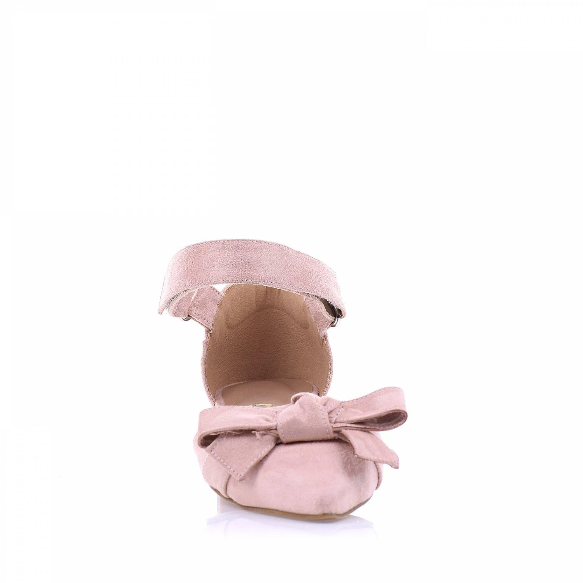 Sapatilha  Camurça Nude
