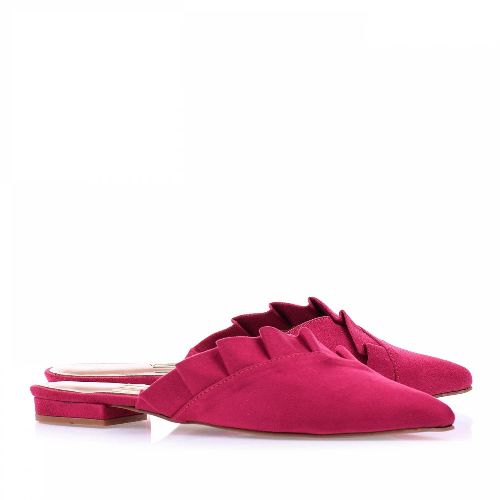 Sapatilha Camurça Pink
