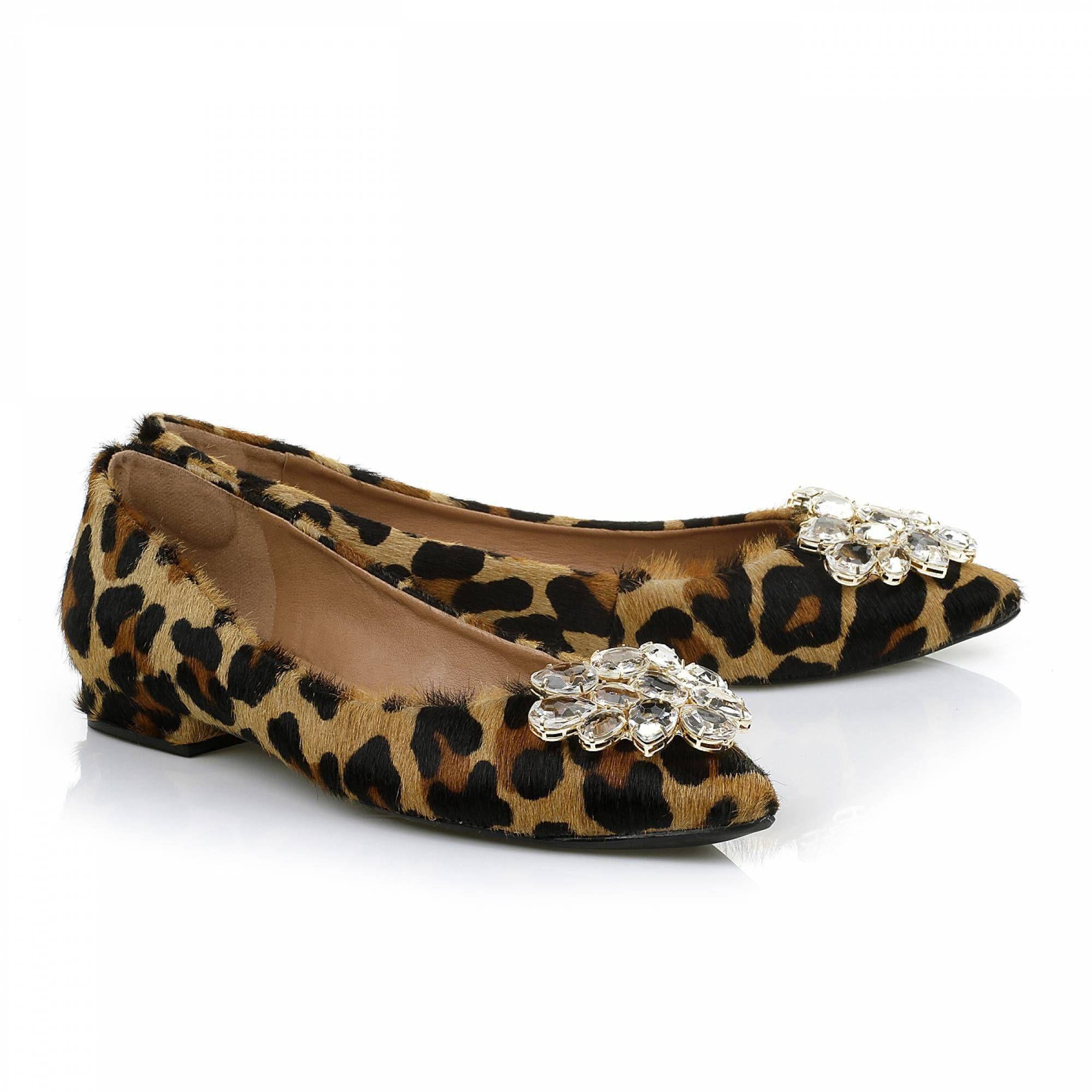 Sapatilha Pelo Leopard