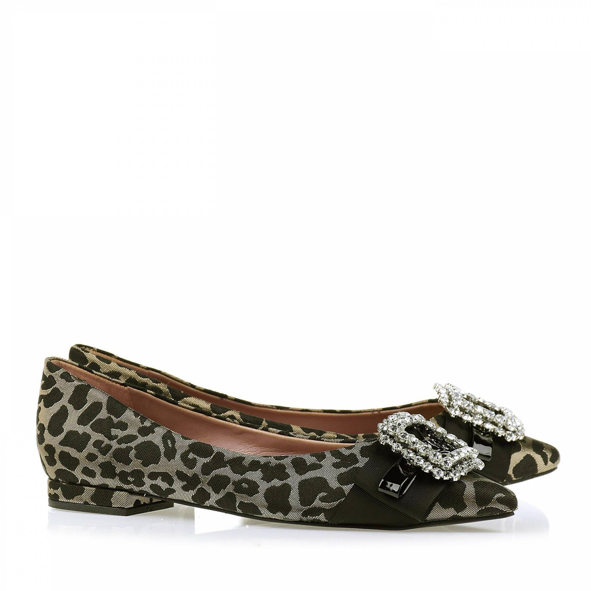 Sapatilha Shine Leopardo