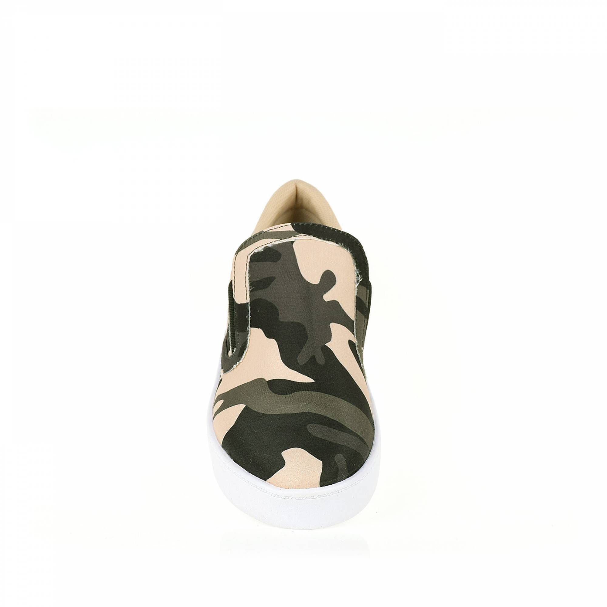 Tênis Slipper Camuflagem