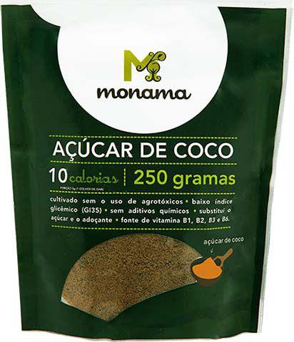 Açúcar de Coco 250g Monama