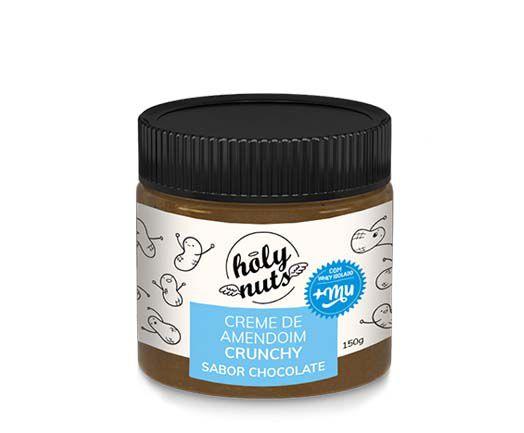 Creme de Amendoim Crunchy Chocolate 150g Holy Nuts