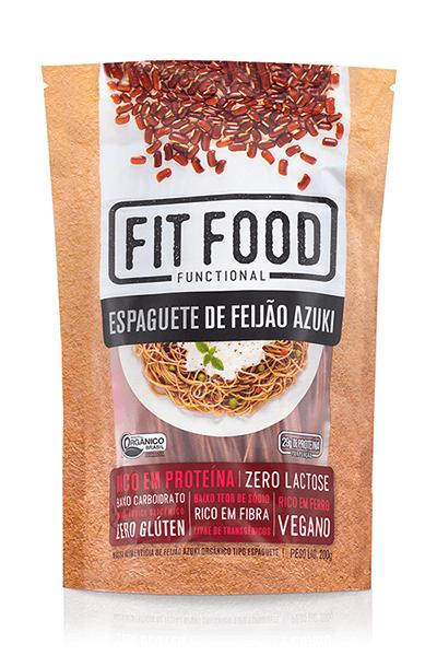 Espaguete de Feijão Azuki 200g Fit Food