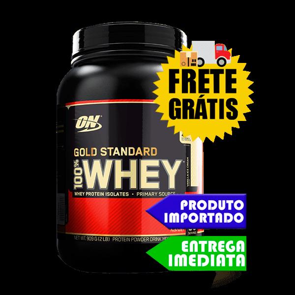 100% Whey Protein  - Optimum Nutrition (900gr)
