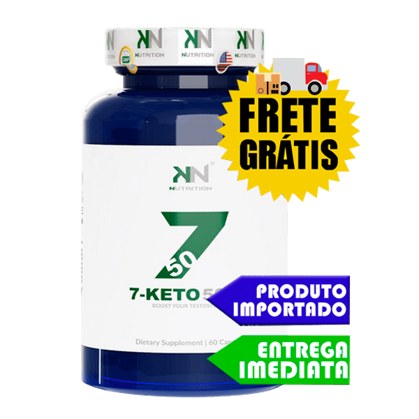 7 Keto DHEA 50mg - KN Nutrition (60 cápsulas)