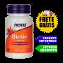 Biotina - Now Foods (1,000mcg - 100 caps)
