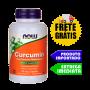 Curcuma - Now Foods (60 Cápsulas) (Raiz de açafrão da terra)