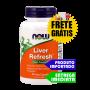 Desintoxicação do Fígado - Now Foods (90 capsulas)   Tratamento para Esteatose Hepática