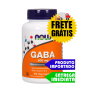 GABA 500 mg - Now Foods (100 cáps)