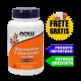 Glucosamina e Condroitina c/ MSM - Now foods (90 cápsulas)