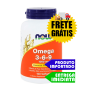 Omega 3 - 6 - 9 - Now Foods (100 cápsulas)
