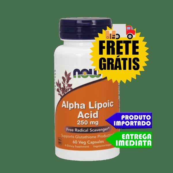 Ácido Alfa Lipóico - Now Foods (60 capsulas)