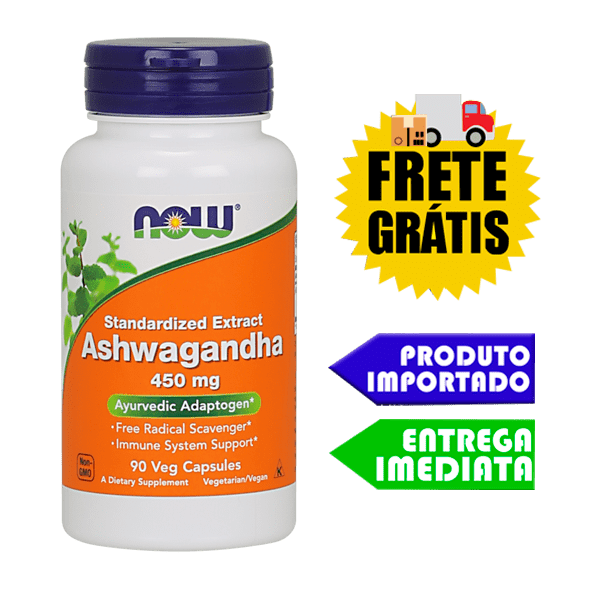 Ashwagandha - Now Foods (Ginseng Indiano)