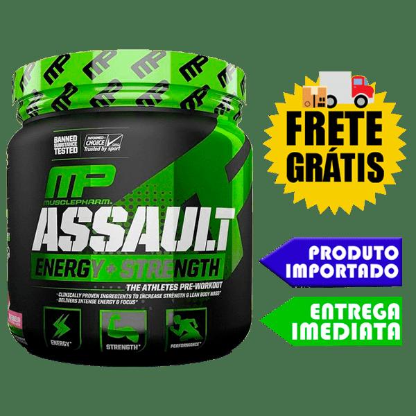 Assault - Muscle Pharm (Importado) (222Gr)