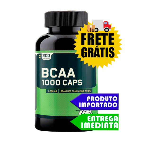 Bcaa 1000 - Optimum Nutrition (200 capsulas)