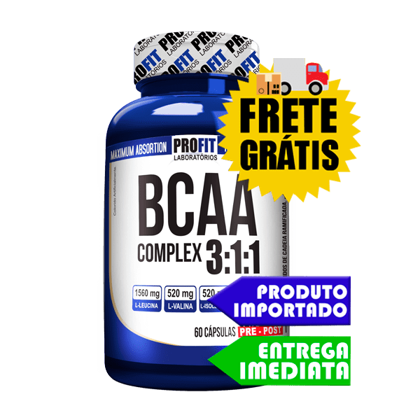 BCAA - Profit Labs (60 Capsulas)