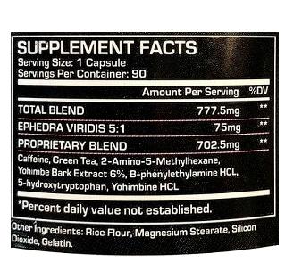 Black Viper  - Dragon Pharma ( 90 cápsulas )  | VERSÃO NOVA