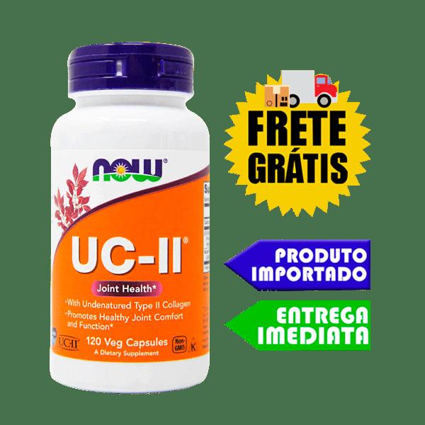 Colágeno UC-II - Now Foods (40mg - 60 cápsulas)