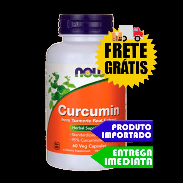 Cúrcuma - Now Foods (60 Cápsulas) (Raiz de açafrão da terra)