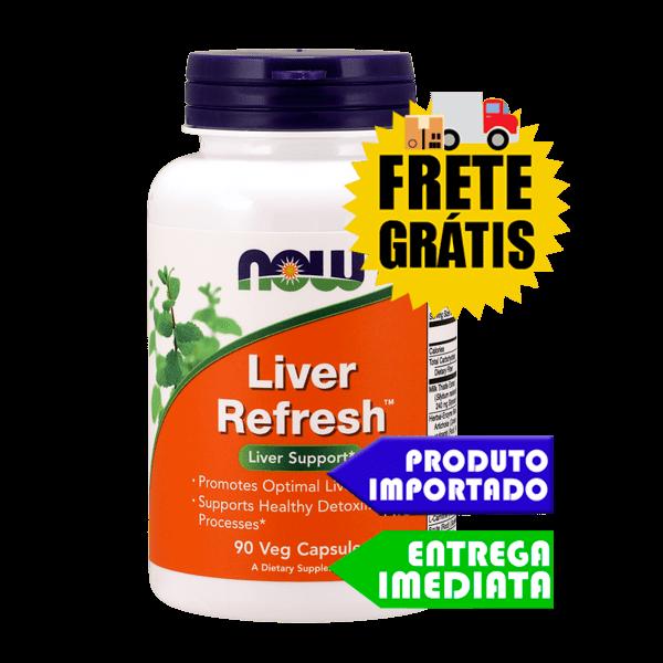 Desintoxicação do Fígado - Now Foods (90 capsulas) | Tratamento para Esteatose Hepática