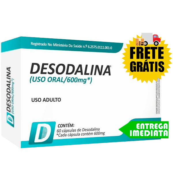 Desodalina - Power Supplements (60 Cápsulas)