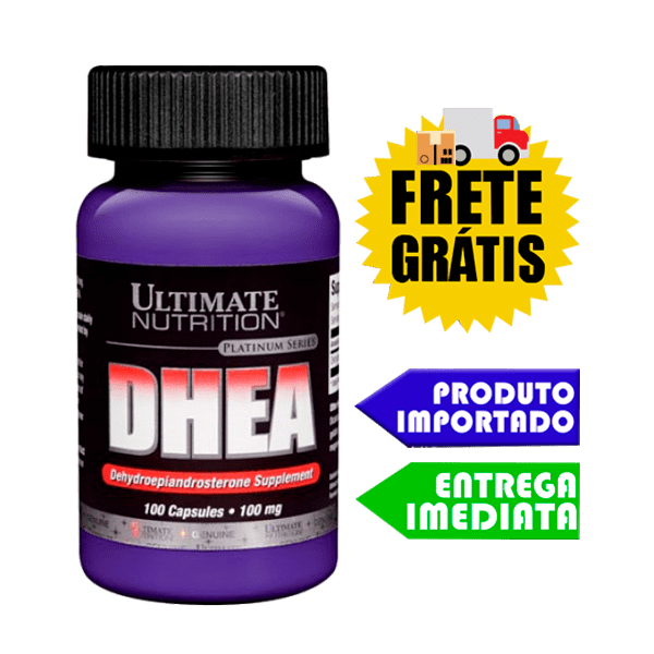 DHEA 100mg - Ultimate Nutrition (100 cápsulas)