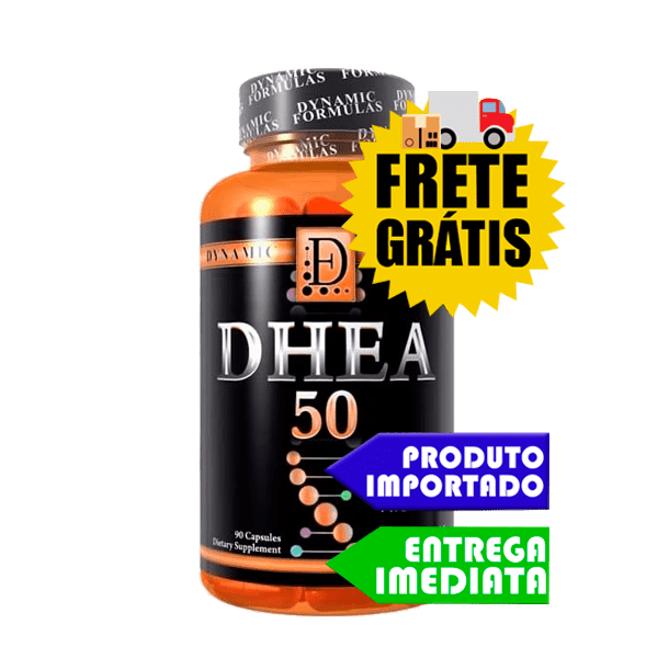 DHEA 50 - Dynamic Formulas (90 cápsulas)
