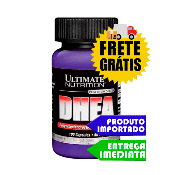 DHEA 50mg - Ultimate Nutrition (100 cápsulas )