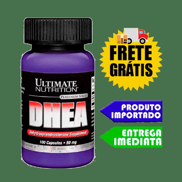 DHEA 50mg - Ultimate Nutrition (100 cápsulas )
