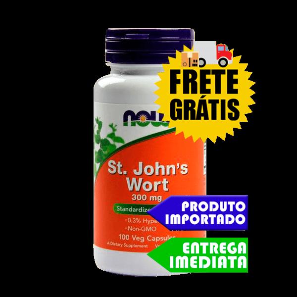 Erva de são joão (St. John's Wort) - Now Foods (250 cáps)