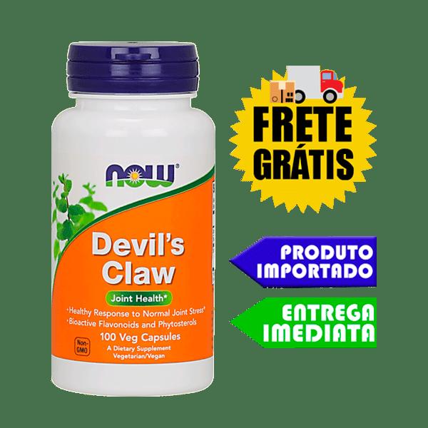 Garra do Diabo - Now Foods (100 capsulas)