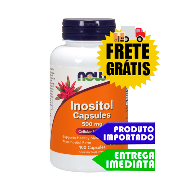 Inositol - Now Foods (100 cáps)