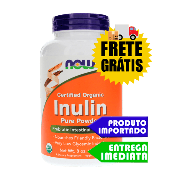 Inulina Pura - Now Foods (227Gr)