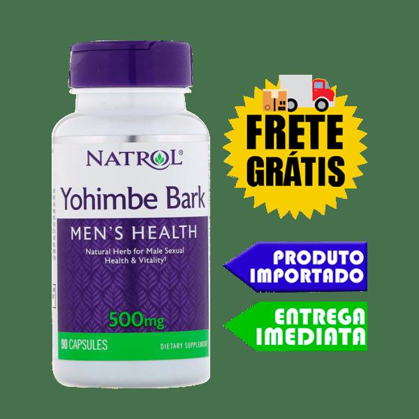 Ioimbina - Natrol ( 500mg - 90 Cápsulas )