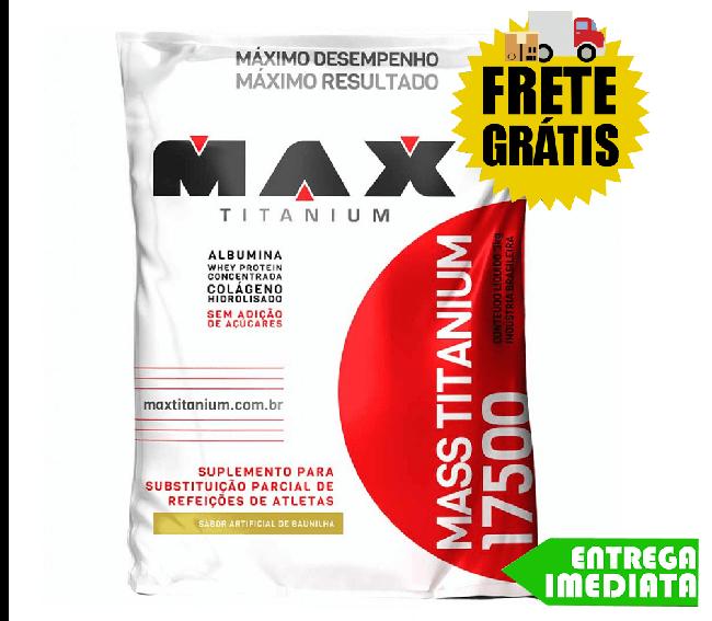 MASSA 17500 - MAX TITANIUM (3kg)